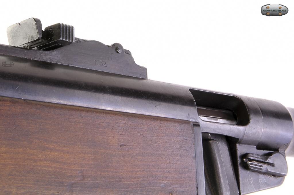Suomi-konepistooli M/31 (KP/-31, Suomi KP). вид на окно выбрасывателя